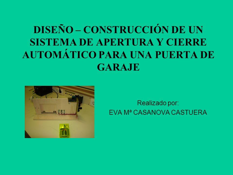 Realizado por: EVA Mª CASANOVA CASTUERA
