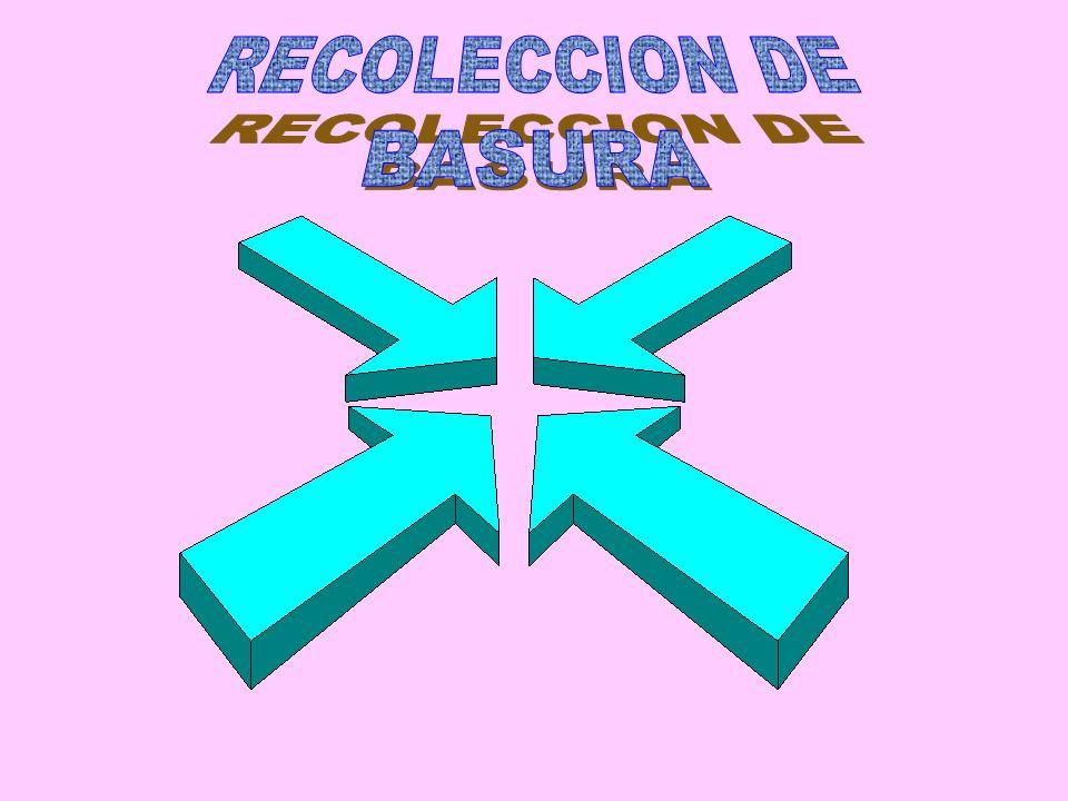 RECOLECCION DE BASURA