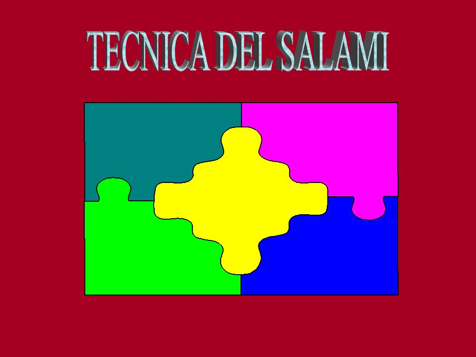 TECNICA DEL SALAMI