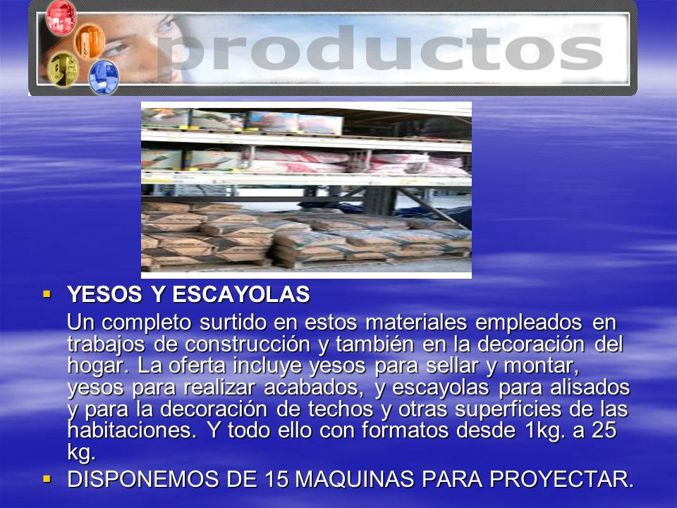 www.tenerife.mex.tl YESOS Y ESCAYOLAS