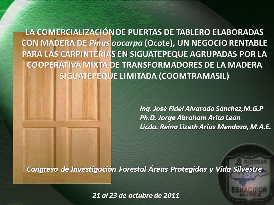 Congreso de Investigación Forestal Áreas Protegidas y Vida Silvestre