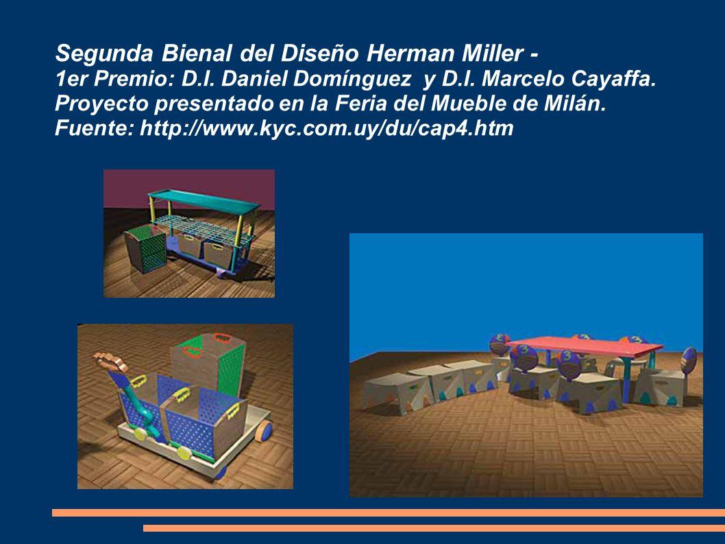 Segunda Bienal del Diseño Herman Miller - 1er Premio: D. I