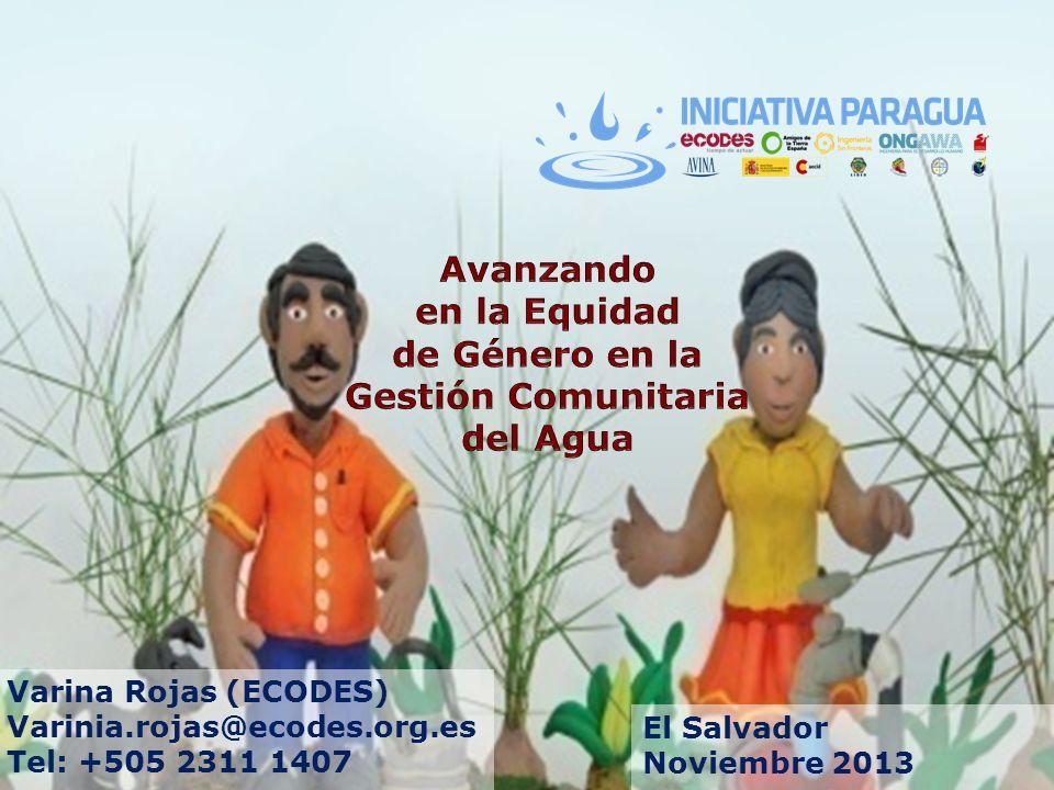 Avanzando en la Equidad de Género en la Gestión Comunitaria del Agua