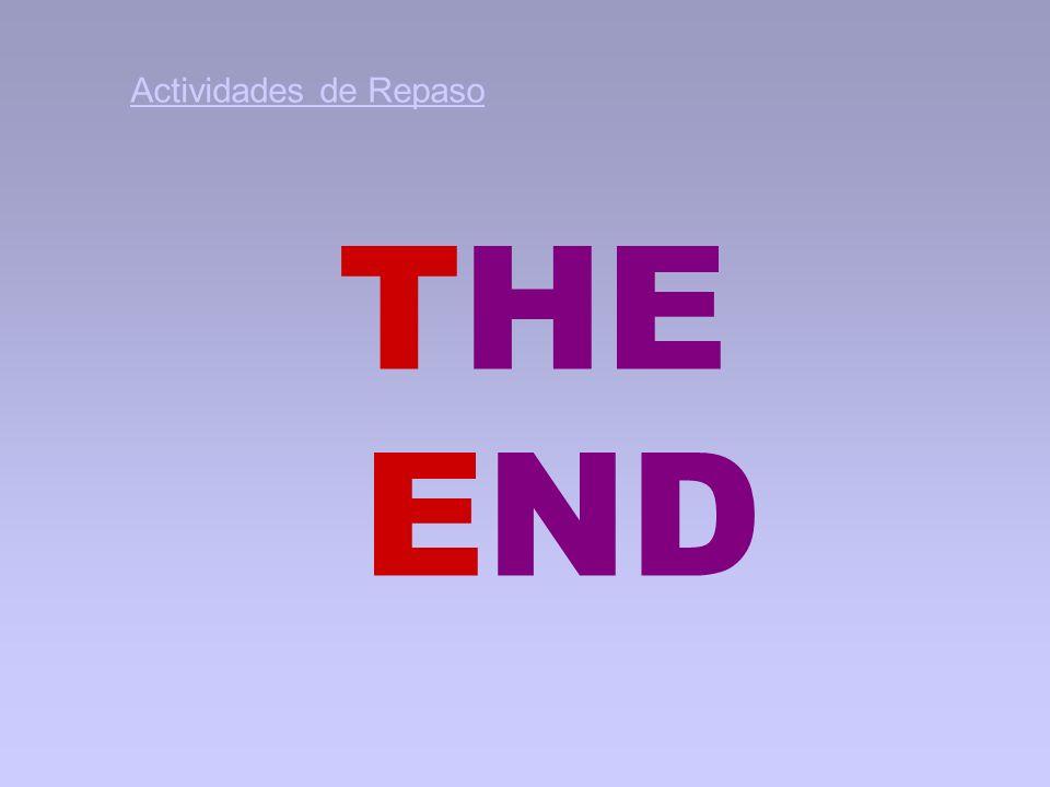 Actividades de Repaso THE END