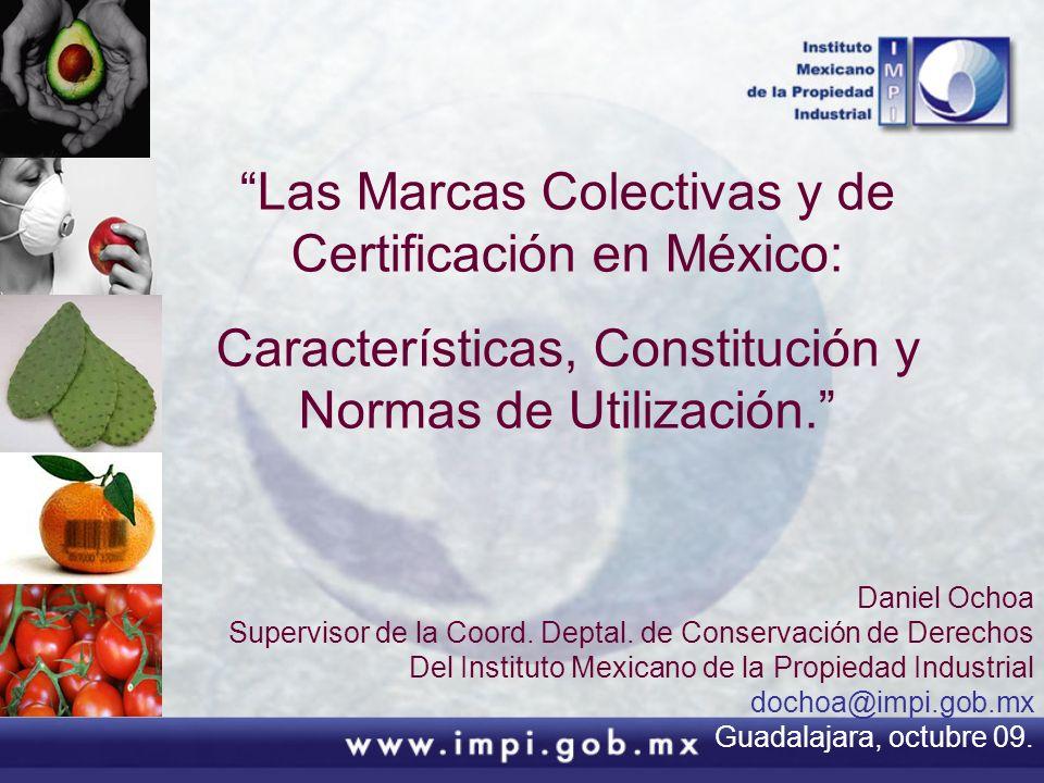 Las Marcas Colectivas y de Certificación en México: