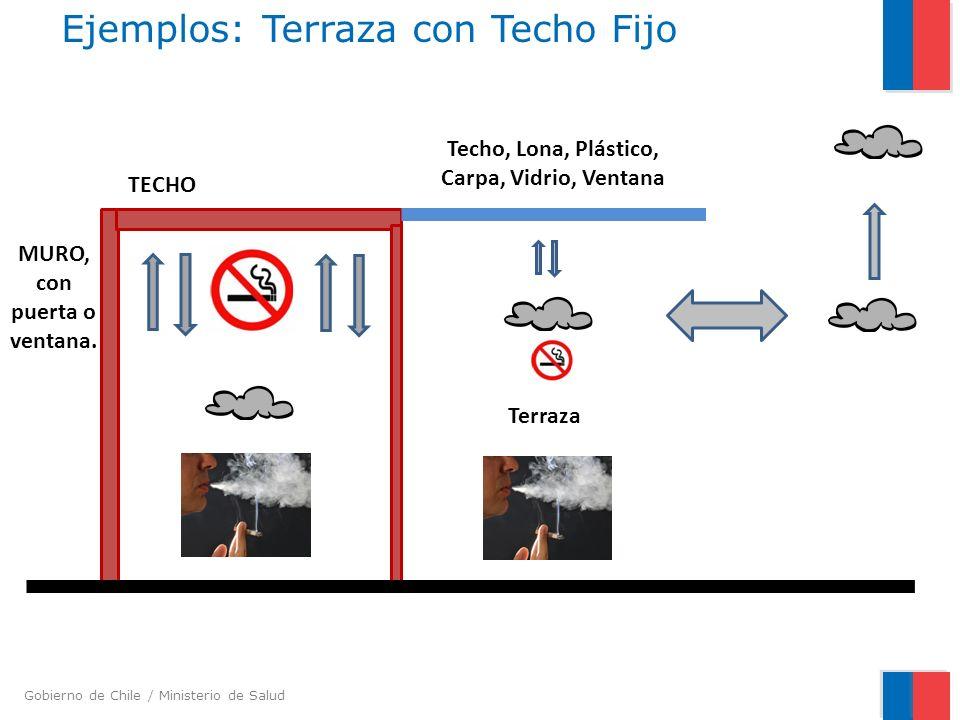 Ejemplos: Terraza con Techo Fijo