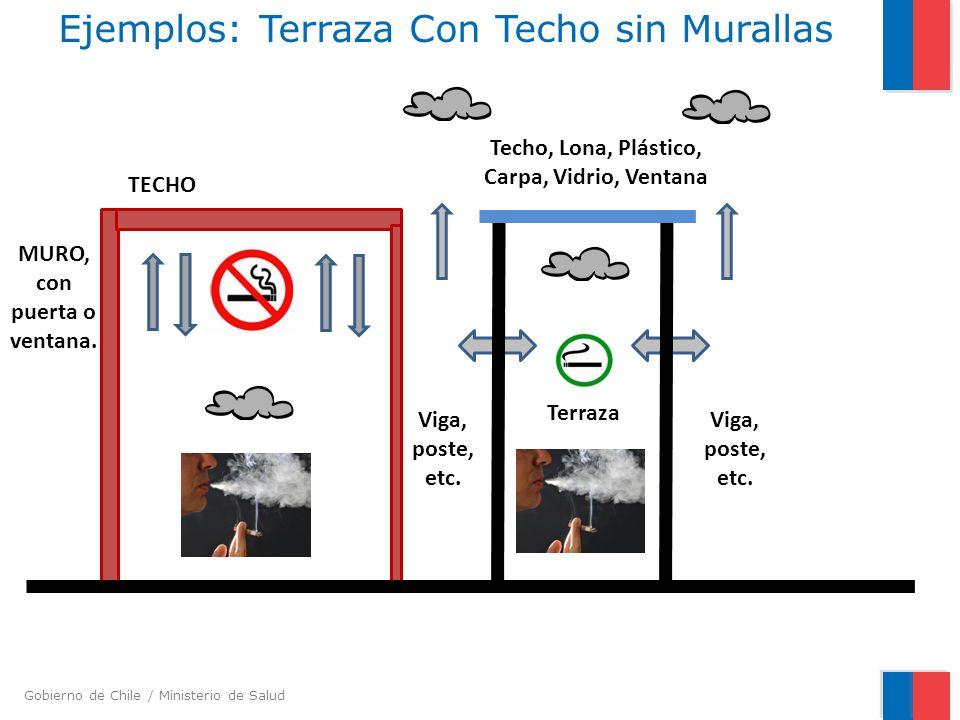Ejemplos: Terraza Con Techo sin Murallas