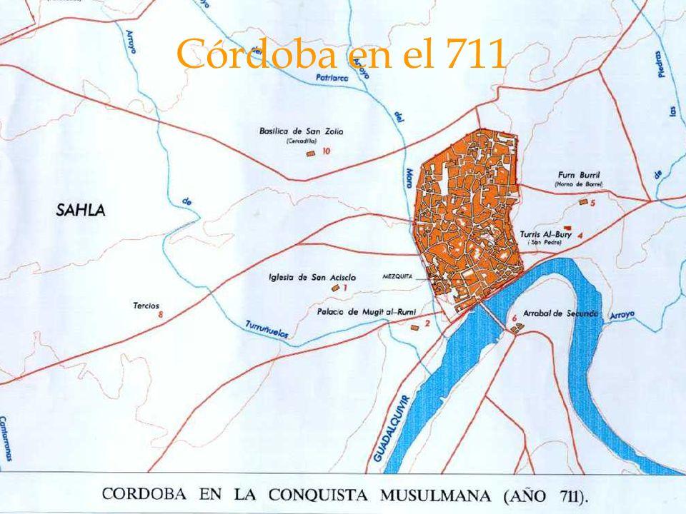 Córdoba en el 711