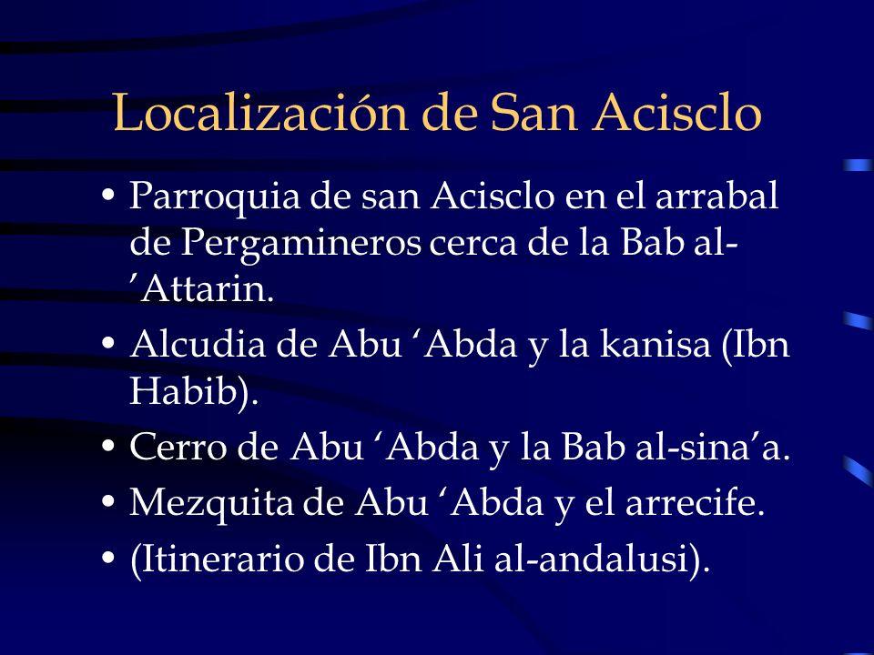 Localización de San Acisclo