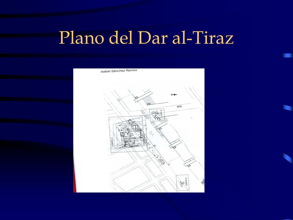 Plano del Dar al-Tiraz