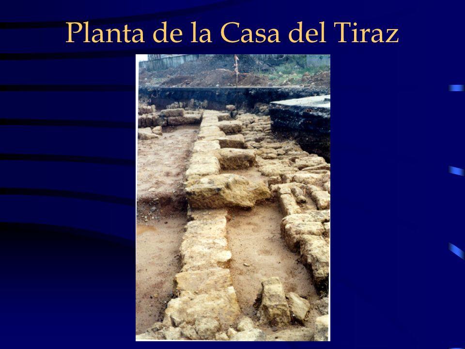 Planta de la Casa del Tiraz