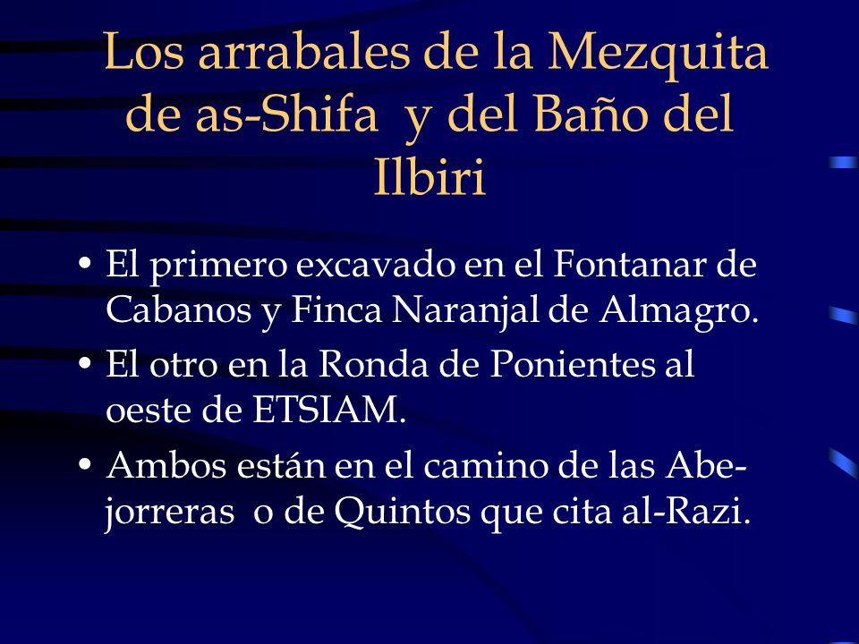 Los arrabales de la Mezquita de as-Shifa y del Baño del Ilbiri