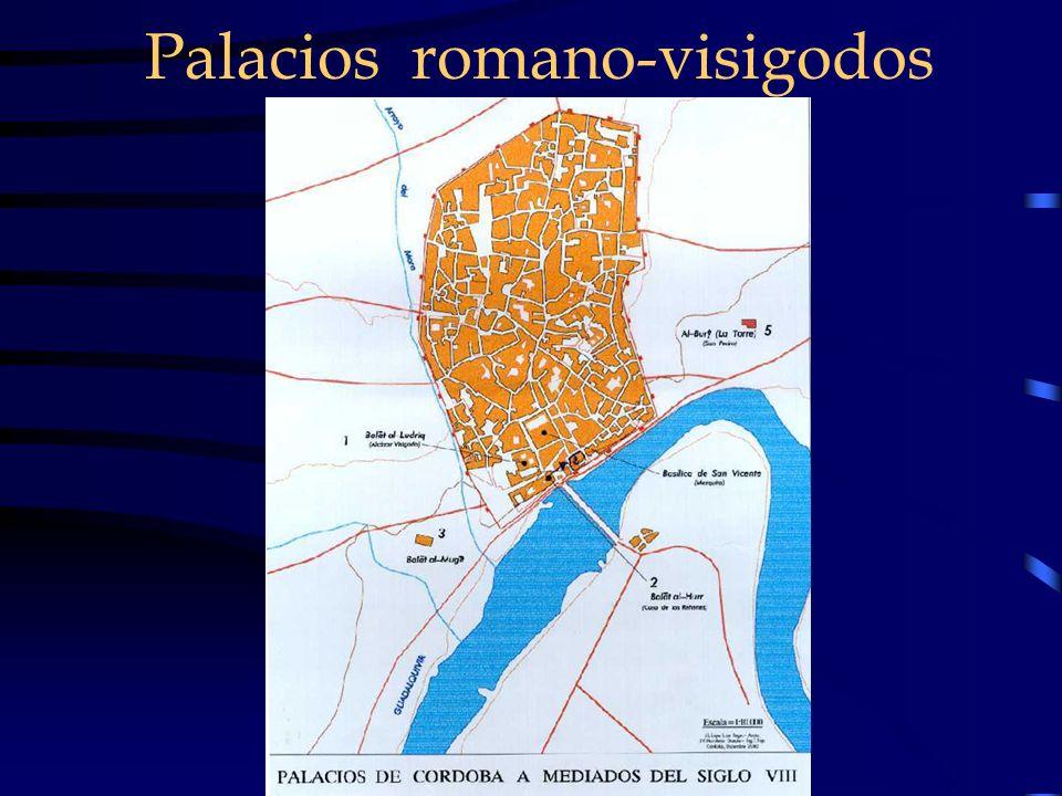 Palacios romano-visigodos