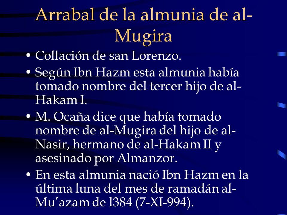 Arrabal de la almunia de al-Mugira