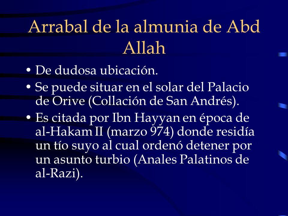 Arrabal de la almunia de Abd Allah