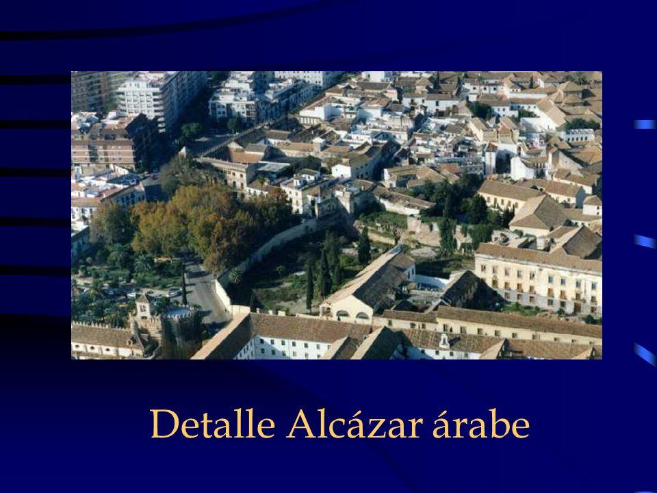 Detalle Alcázar árabe