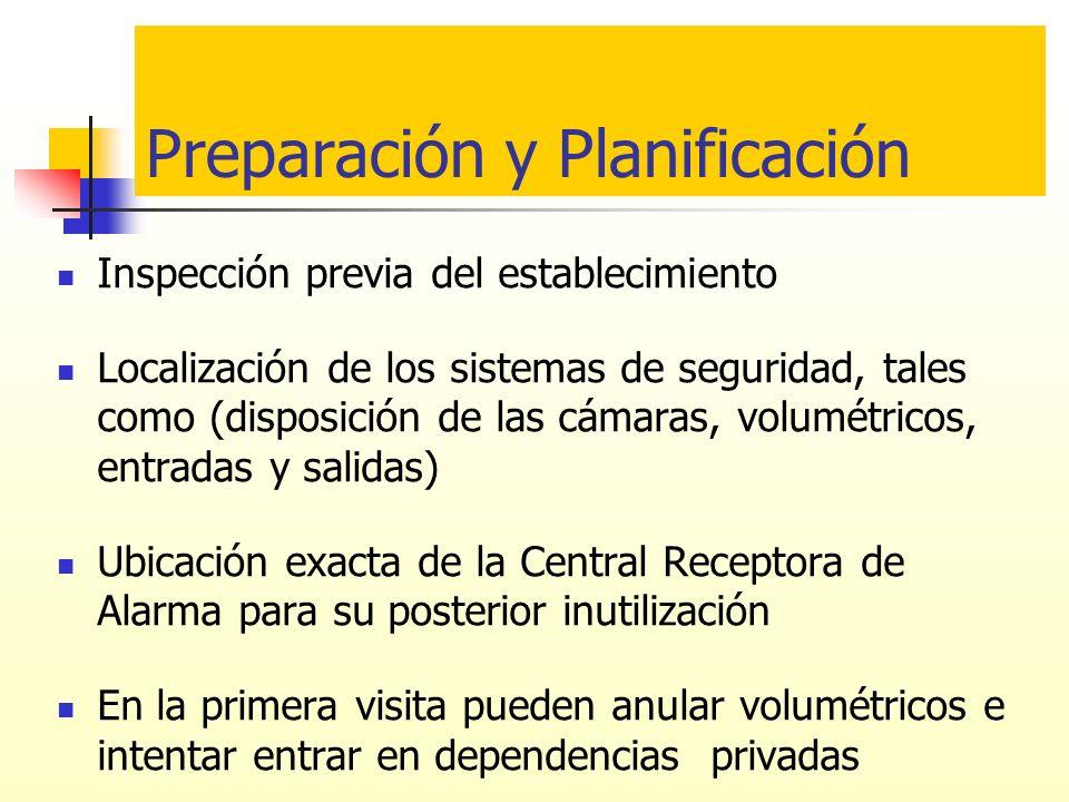 Preparación y Planificación