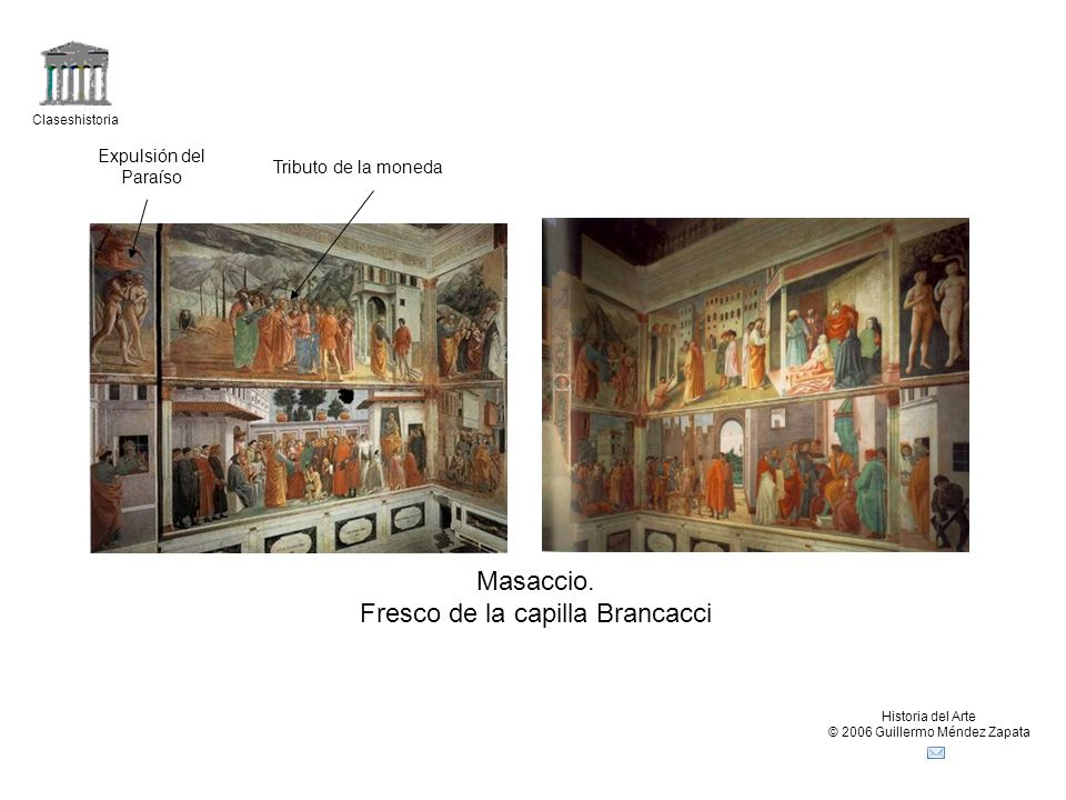 Fresco de la capilla Brancacci