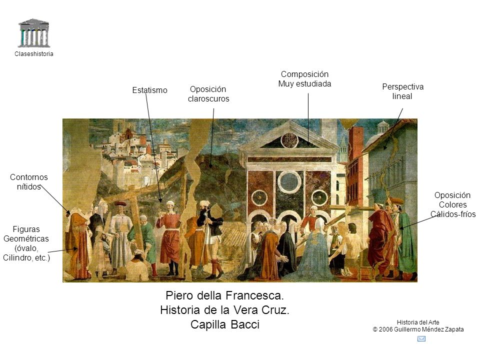 Historia de la Vera Cruz. Capilla Bacci