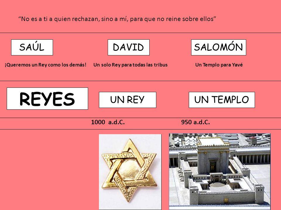 REYES SAÚL DAVID SALOMÓN UN REY UN TEMPLO