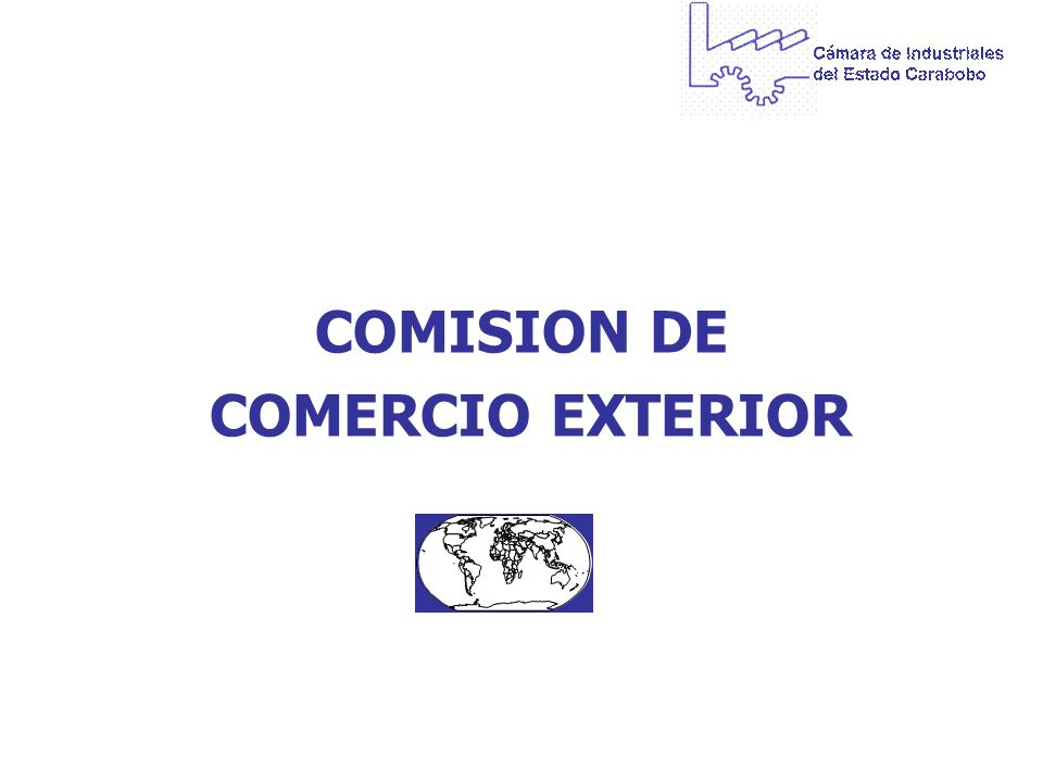 COMISION DE COMERCIO EXTERIOR