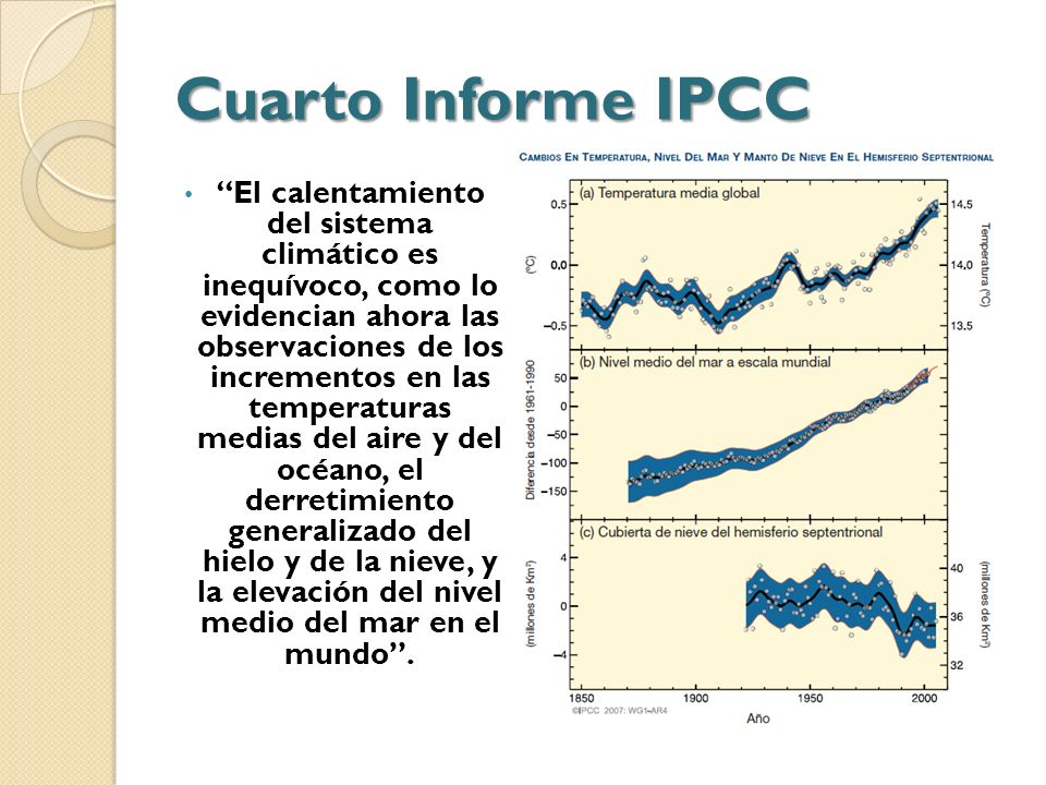 Cuarto Informe IPCC