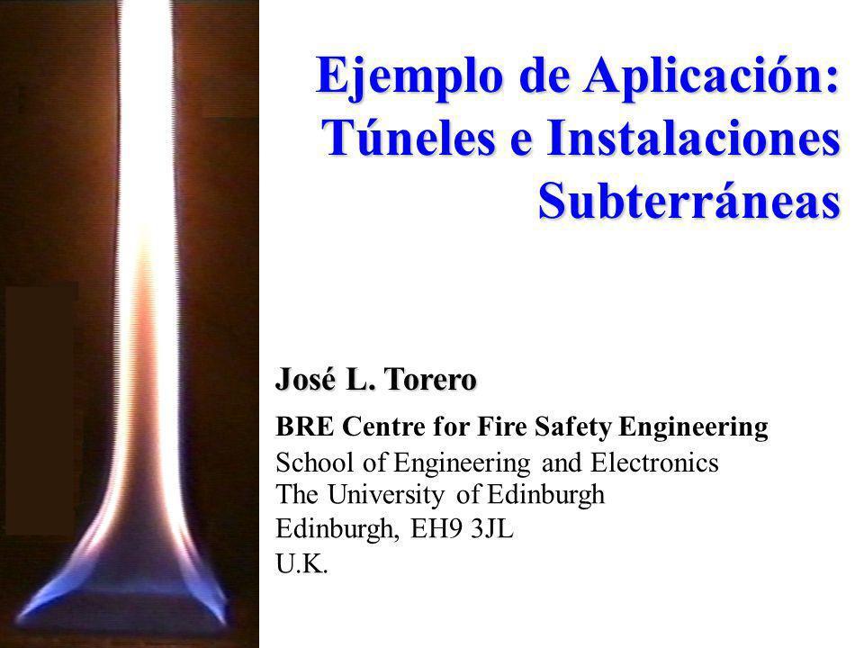 Ejemplo de Aplicación: Túneles e Instalaciones Subterráneas