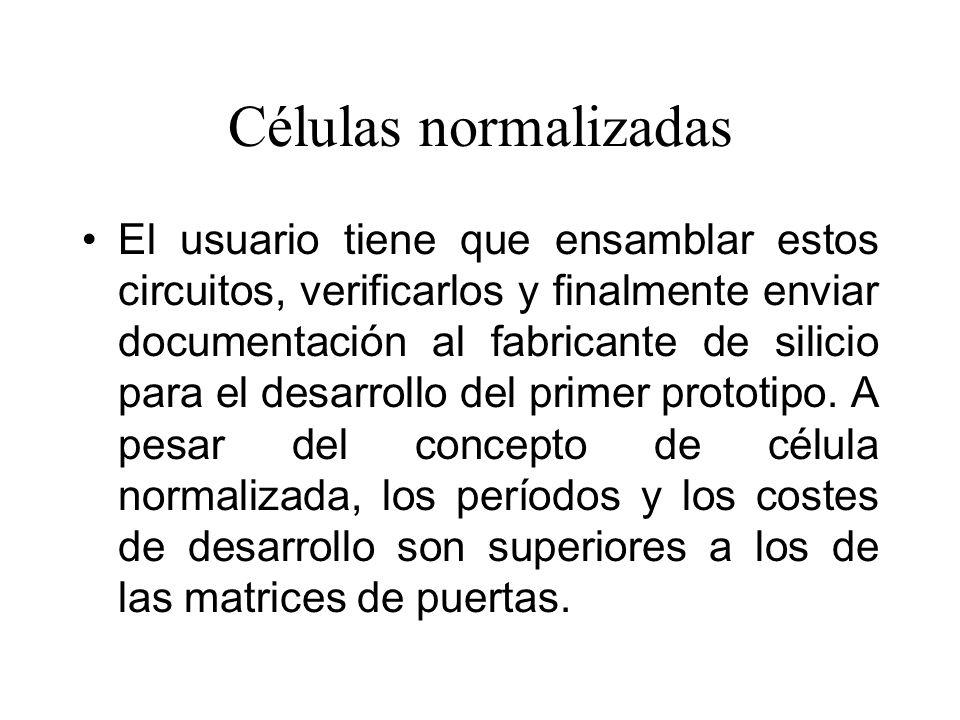 Células normalizadas