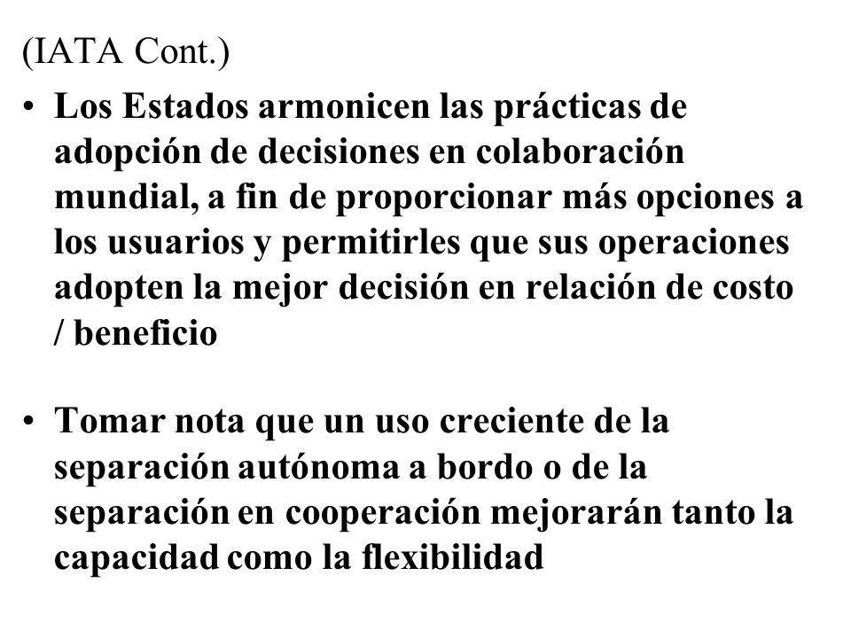 (IATA Cont.)
