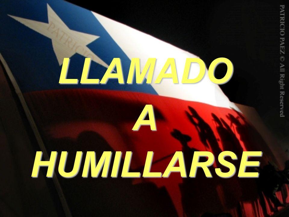 LLAMADO A HUMILLARSE