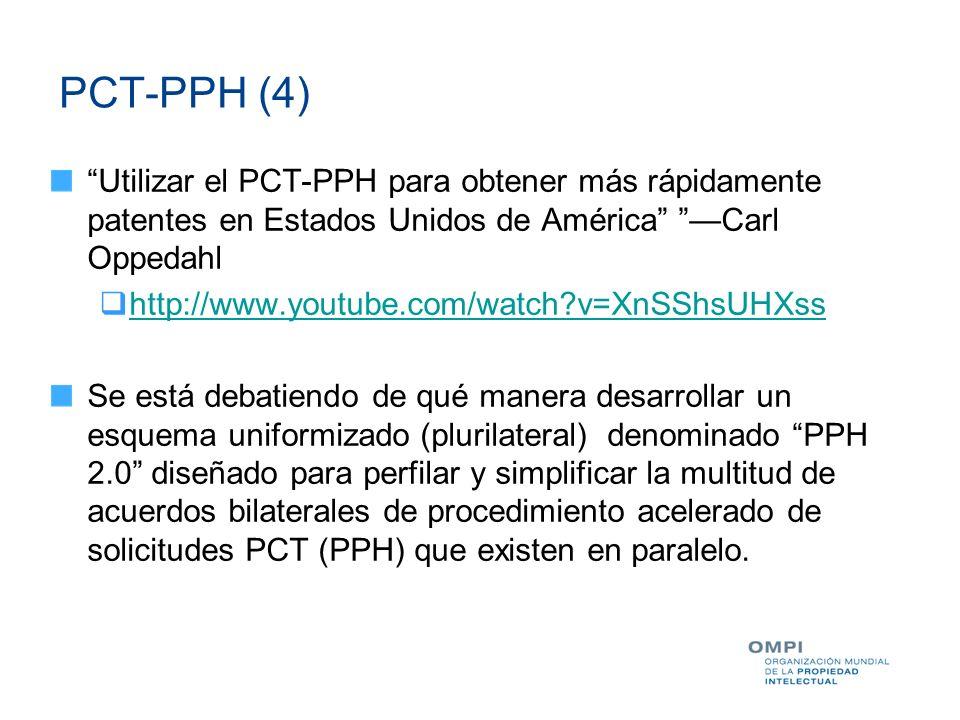 PCT-PPH (4) Utilizar el PCT-PPH para obtener más rápidamente patentes en Estados Unidos de América —Carl Oppedahl.