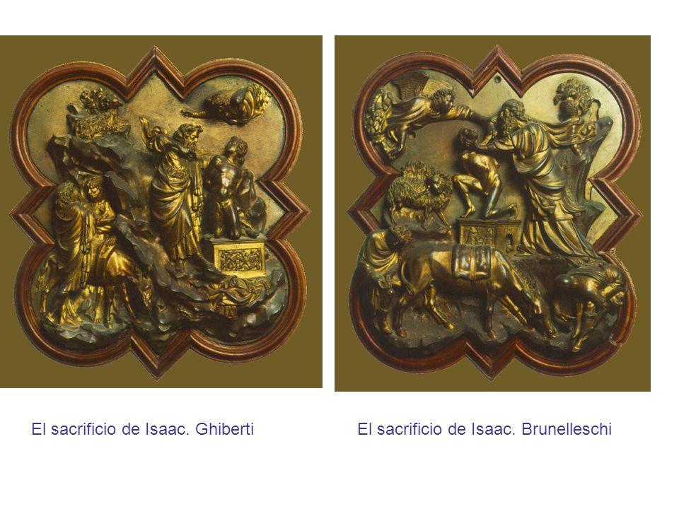 El sacrificio de Isaac. Ghiberti