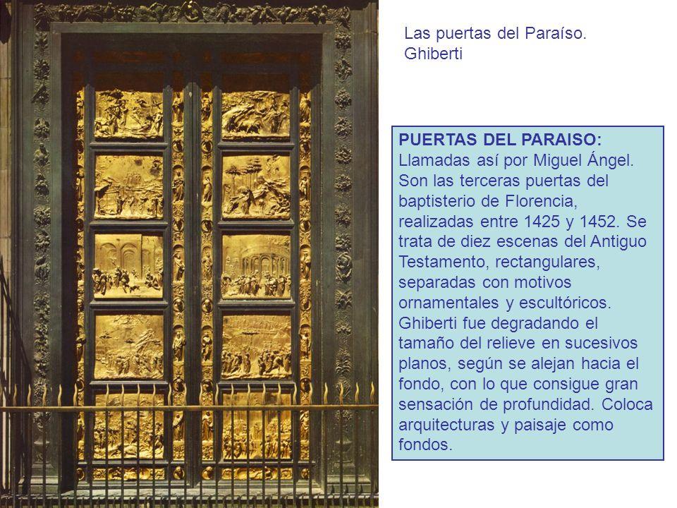 Las puertas del Paraíso. Ghiberti