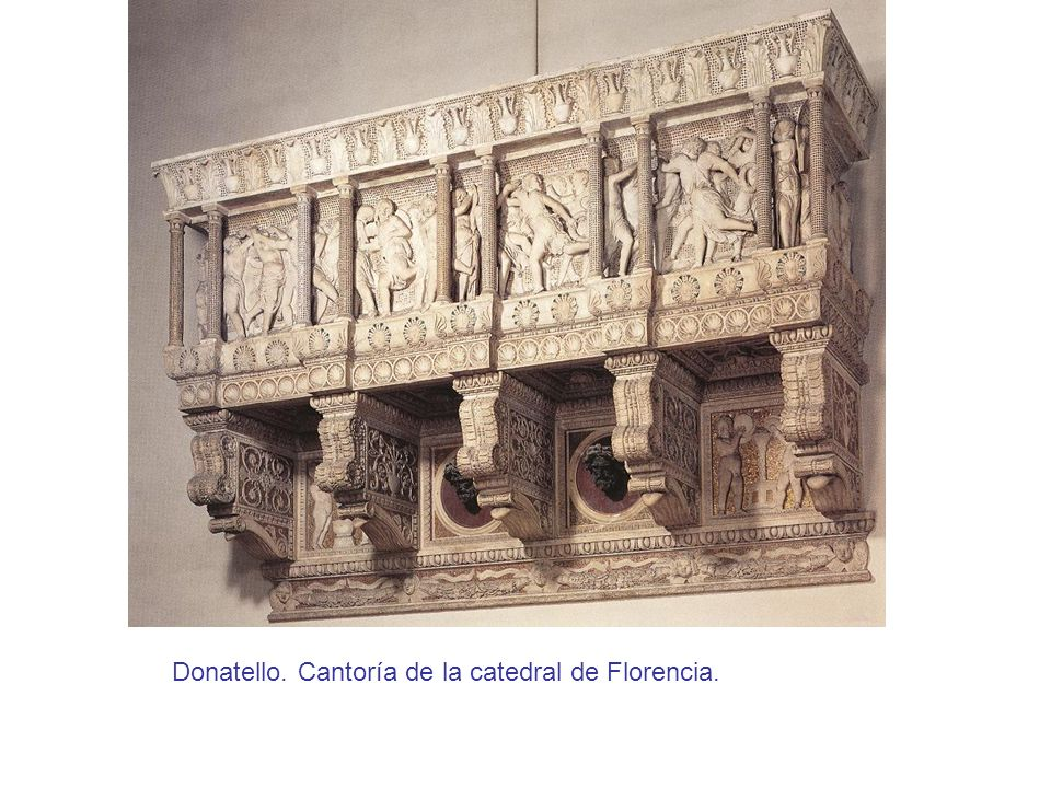 Donatello. Cantoría de la catedral de Florencia.