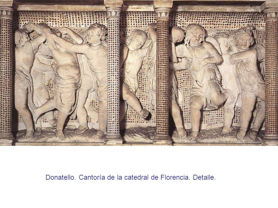 Donatello. Cantoría de la catedral de Florencia. Detalle.