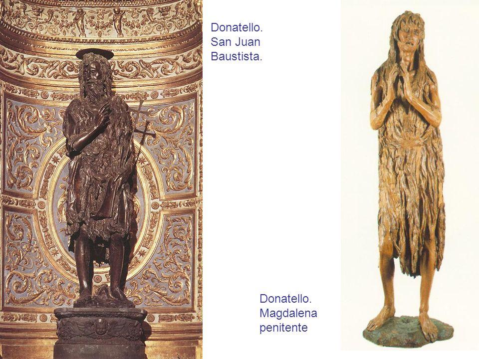 Donatello. San Juan Baustista.