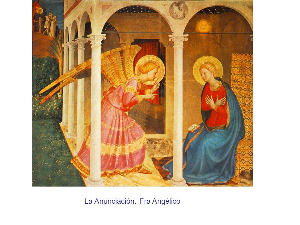 La Anunciación. Fra Angélico