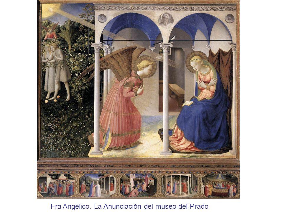 Fra Angélico. La Anunciación del museo del Prado