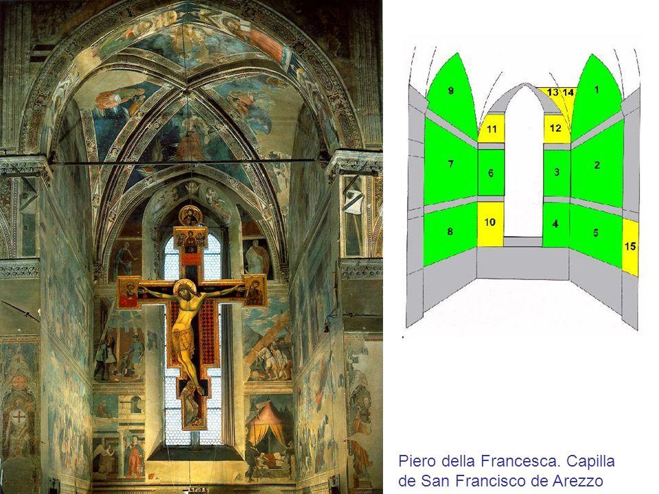Piero della Francesca. Capilla de San Francisco de Arezzo