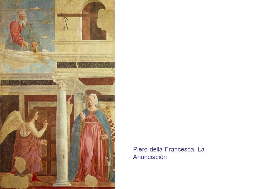 Piero della Francesca. La Anunciación