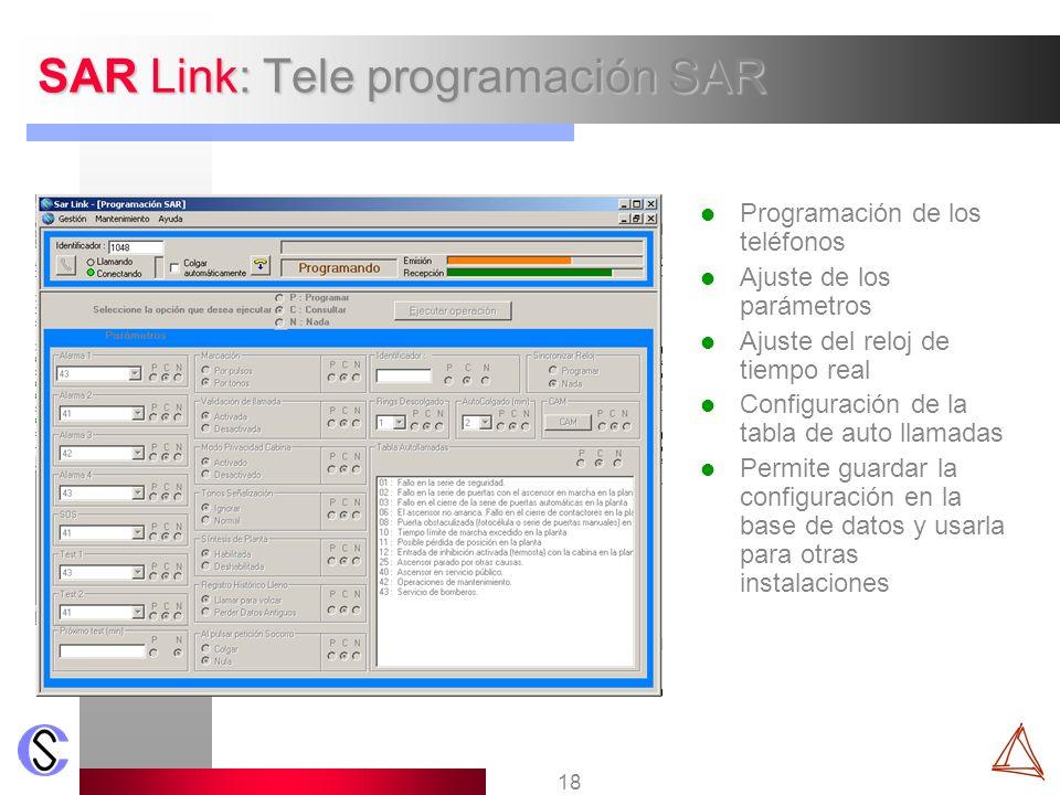 SAR Link: Tele programación SAR