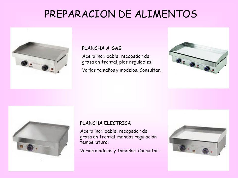 PREPARACION DE ALIMENTOS