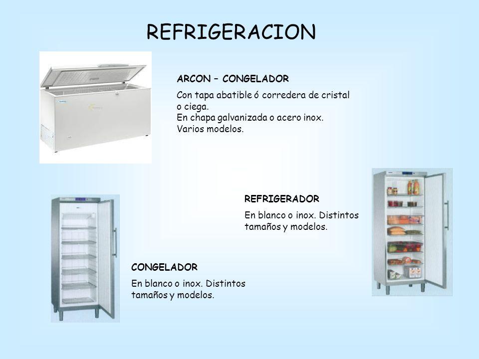 REFRIGERACION ARCON – CONGELADOR
