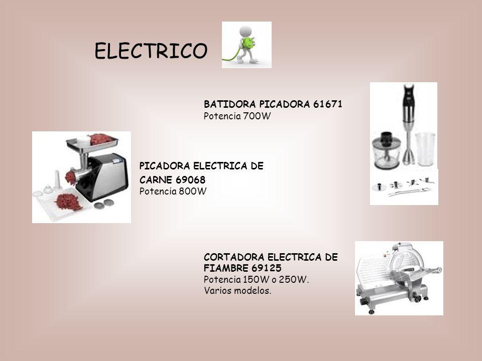 ELECTRICO BATIDORA PICADORA 61671 Potencia 700W