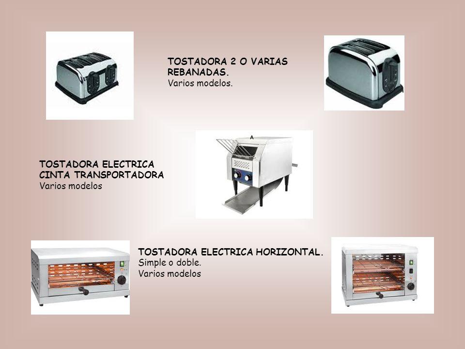 TOSTADORA 2 O VARIAS REBANADAS. Varios modelos.