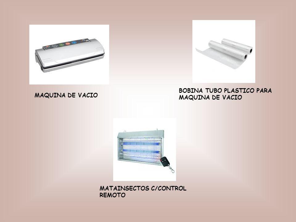 BOBINA TUBO PLASTICO PARA MAQUINA DE VACIO