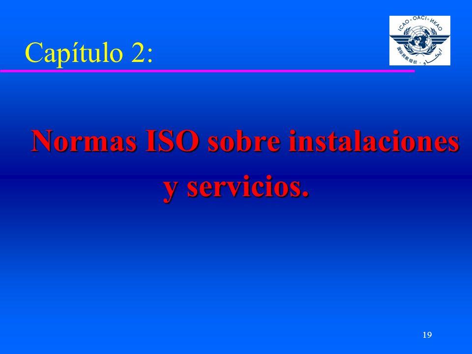 Normas ISO sobre instalaciones