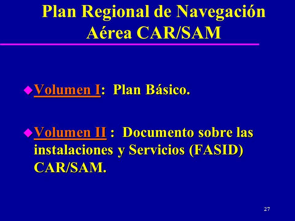 Plan Regional de Navegación Aérea CAR/SAM