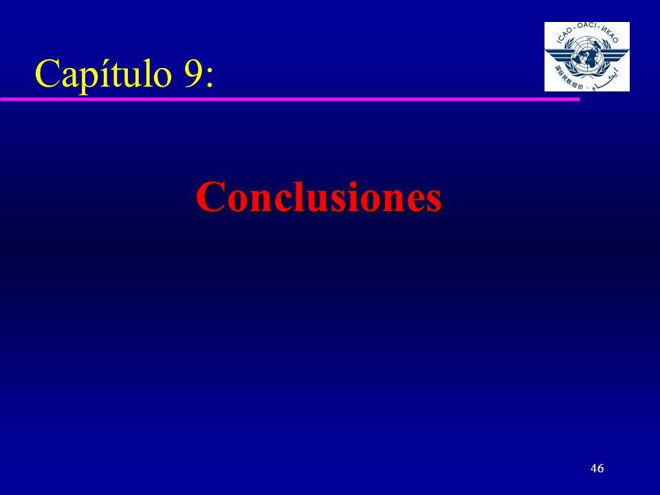 Capítulo 9: Conclusiones