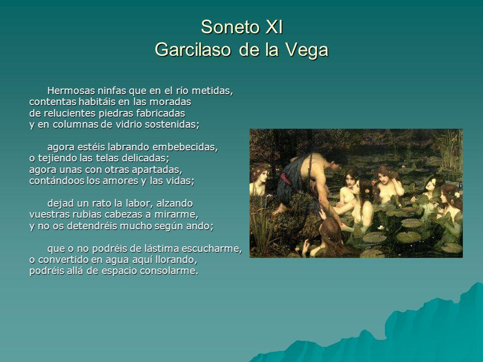 Soneto XI Garcilaso de la Vega